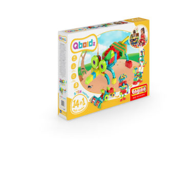 Jocuri de asamblat QBOIDZ 14 IN 1 SET MULTIMODELE - EnginoToys