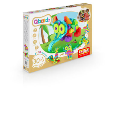 Joc de asambat QBOIDZ 30 IN 1 SET MULTIMODELE - EnginoToys